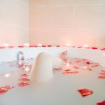 Bath with Petals