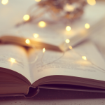 Book with String lights
